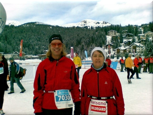 6. Swiss Snow Walk & Run, Arosa, 9.Januar 2010